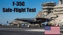 US Navy F-35C Squadron Passes Safe-Flight Test on USS Carl Vinson