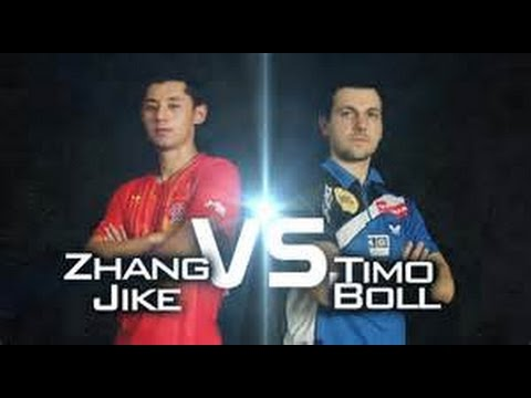 Zhang Jike - Top 25 Points Against Timo Boll