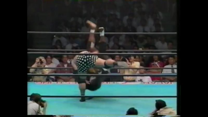 1993.06.01 - Giant Kimala II vs. Jun Izumida [CLIP]