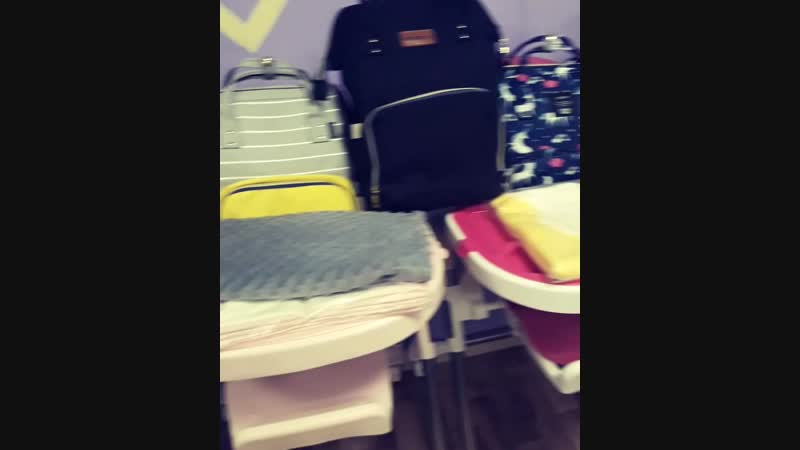 Рюкзачки и стульчики