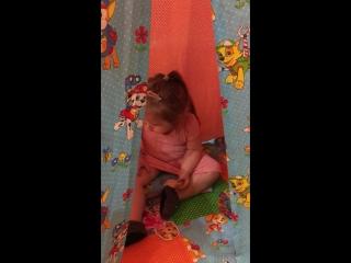 Любимая внученька Ирины Боковой - вигвам