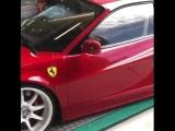 Ferrari - старая школа!