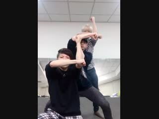 The way these 3 korean men synchronize is beyond amazing