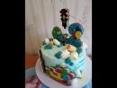 Милый мультяшный тортик mp4