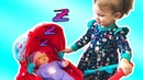 Funny Essy playing with Baby doll Children pretend play with toys Video for kids