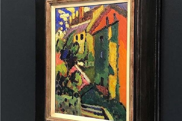 В Германии продали картину Кандинского за 2,5 миллиона евро