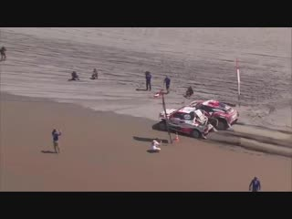 5-й этап D19. DRAG RACE - - Who will win - ️ Al-Attiyah - RT Peterhansel
