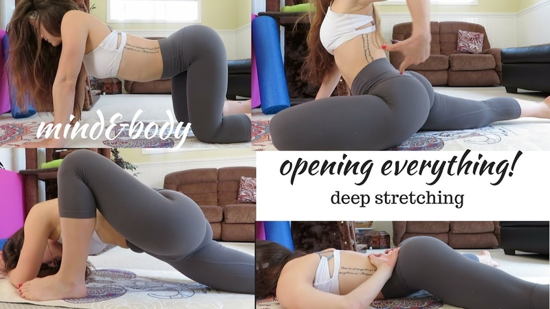 DEEP STRETCHES FOR THE ENTIRE BODY! TRY THESE IF YOU ARE STRESSED,TIRED OR FEELING OVERWHELMED!
