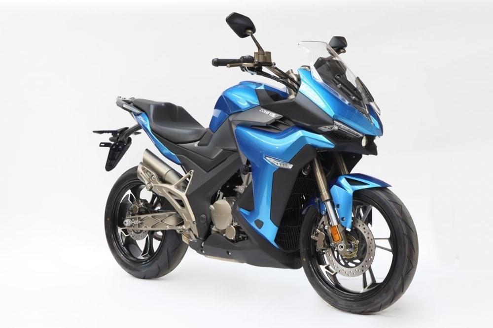 Китайский мотоцикл Zontes 310 ADV запустили в производство