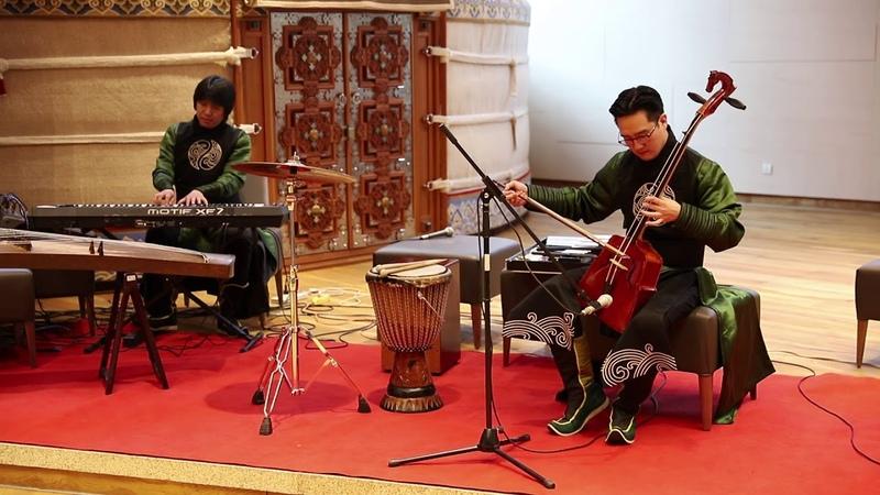 DEELT live concert by Arga bileg ethno djazz band at Nomiin Urguu of Ikh Mongol Complex