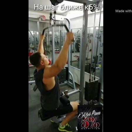 Instagram post by 5%KILL IT GYM спорт клуб • Oct 18, 2018 at 7:54am UTC