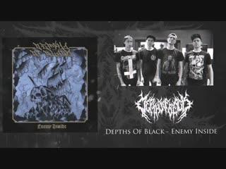 Depths of black - enemy inside / show your fist (ektomorf cover)