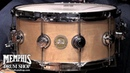 DW 14 x 6 5 VERY RARE Craviotto Solid Shell Birdseye Maple Snare Drum Natural Satin Oil