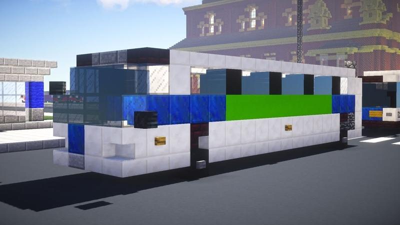 Minecraft NYC MTA Novabus RTS Bus Tutorial