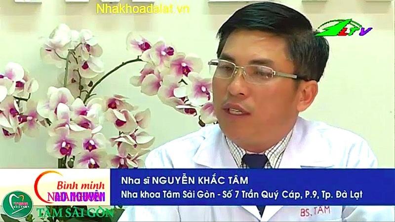 Nha khoa đà lạt chia sẻ về bệnh nha chu trên truyền hình lâm đồng