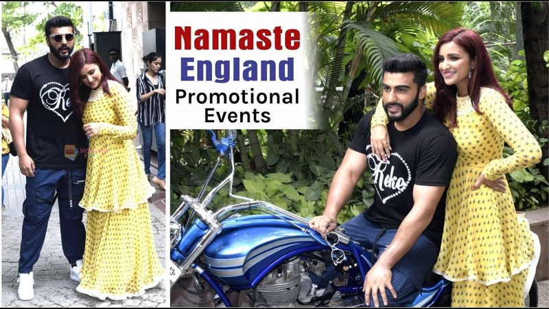 Namaste England Promotional Event   Arjun Kapoor   Parineeti Chopra