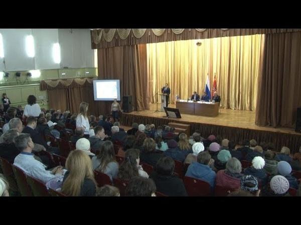 Сюжет ТСН24 Евгений Авилов встретился с жителями Плеханово и Хрущево