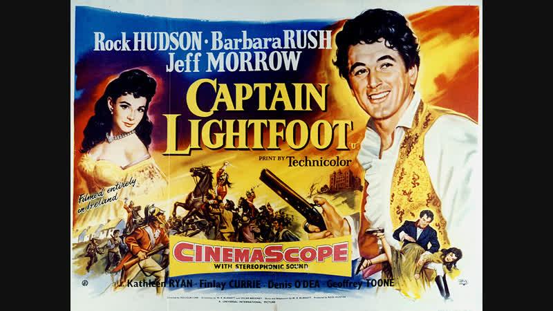 Captain Lightfoot 1955 Rock Hudson Barbara Rush Jeff Morrow