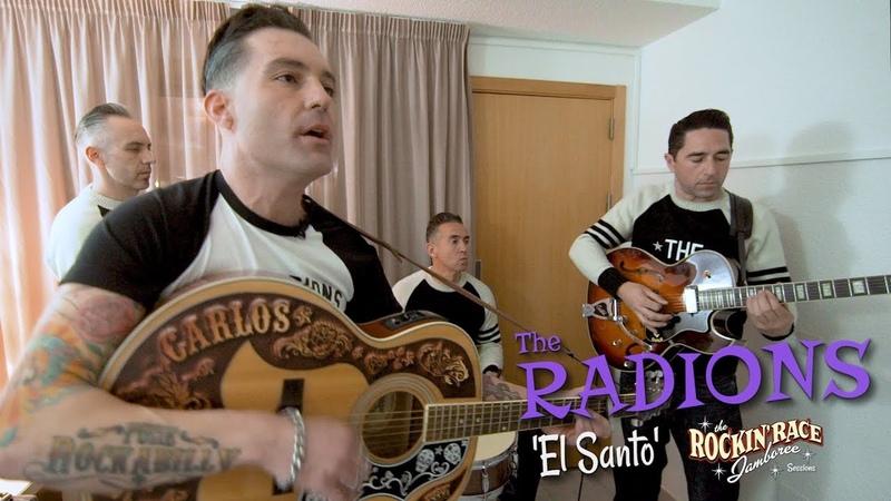 'El Santo' The Radions ROCKIN' RACE (bopflix sessions) BOPFLIX