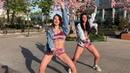 Зомб- Девочка хочет движа Танец дэнсхолл 🌸😍