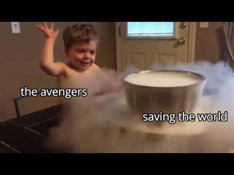 Avengers Endgame as Vines SPOILERS