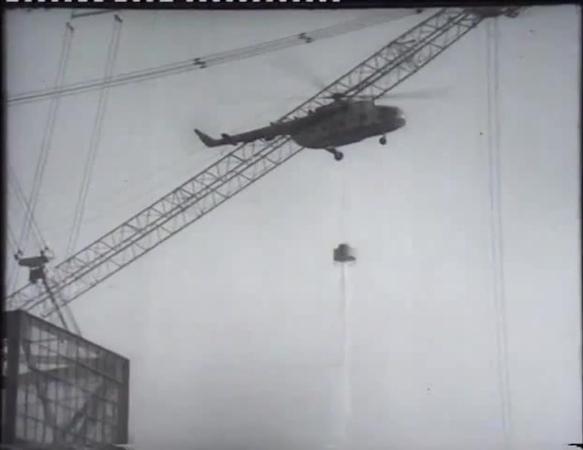Падение вертолета ЧАЭС