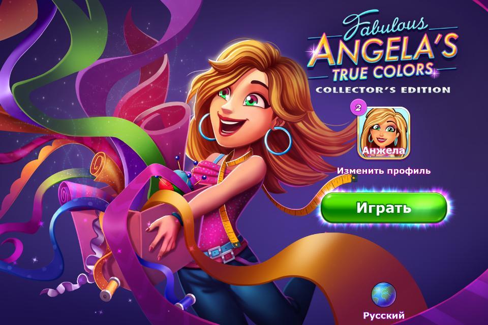 Fabulous 5: Angela's True Colors Collectors Edition Multi (Rus)