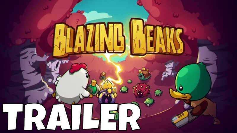 Анонс Blazing Beaks для Nintendo Switch