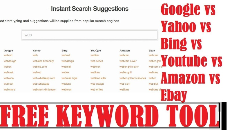Free Keyword Search Suggestion Tool Find HOT Trending Niches