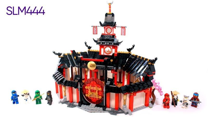 LEGO Ninjago Legacy 70670 Monastery of Spinjitzu Review ОБЗОР