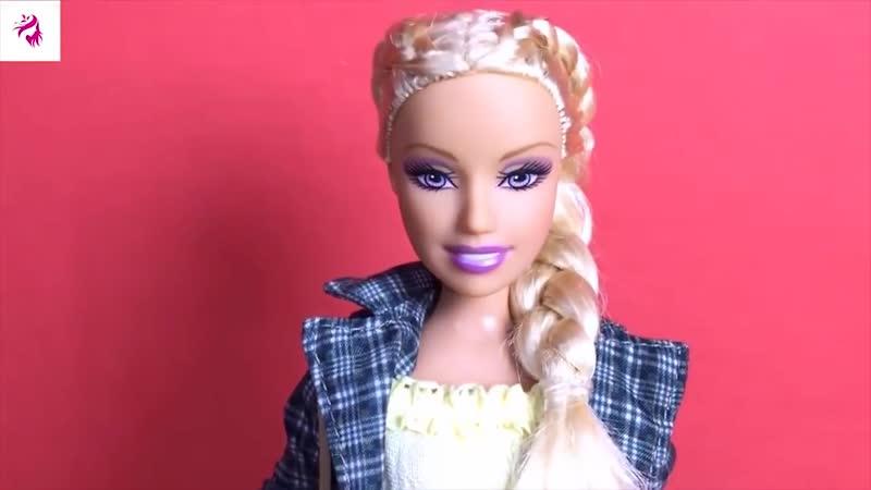 Transformación de Barbie 😍 HERMOSOS PEINADOS PARA BARBIES 41