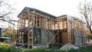 Стойка моего дома и офиса в Петергофе репортаж и заодно строительные советы