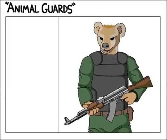 Animal Guards Fail