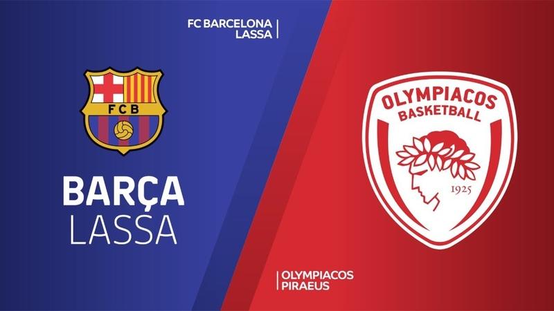 FC Barcelona Lassa - Olympiacos Piraeus Highlights | Turkish Airlines EuroLeague RS Round 13