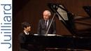 Jun Hwi Cho: Schubert's Impromptu Op. 142, No. 3 | Juilliard Sir András Schiff Piano Master Class