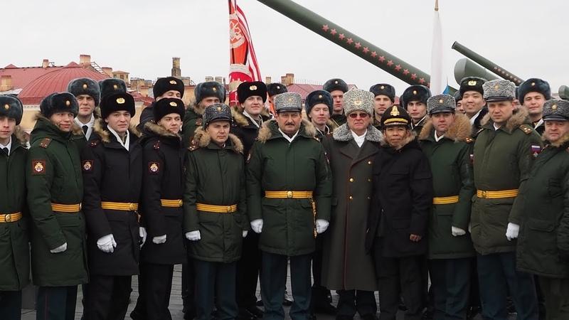 Единственный «зимний» выпуск офицеров Министерства обороны прошел в Санкт-Петербурге