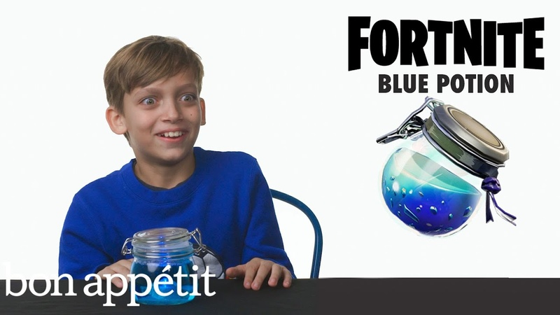 Kids Try Famous Video Game Food, From Fortnite to Mario | Bon Appétit