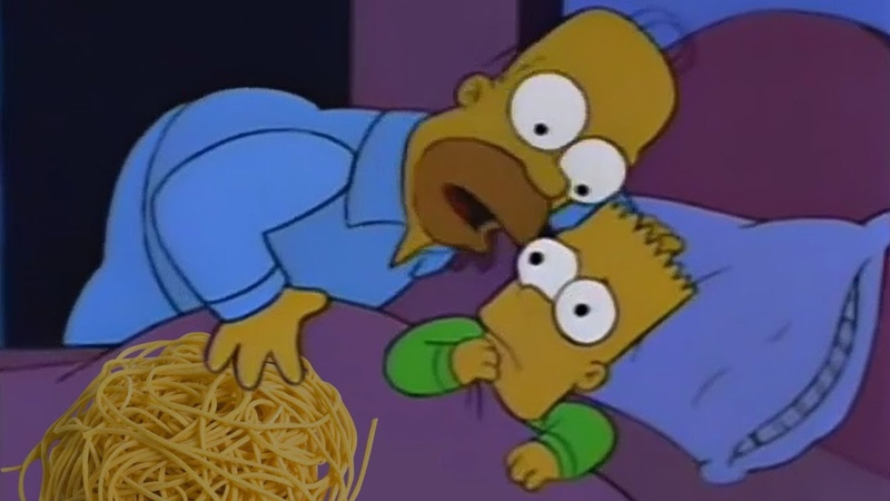 Bart, I dont want to alarm you but toucha spaghet