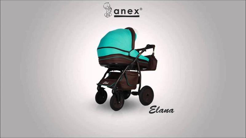 Модельний ряд колясок Anex Navara, Art, Elana