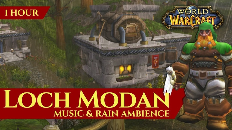 Vanilla Loch Modan - Music Rain Ambience (1 hour, 4K, World of Warcraft Classic)