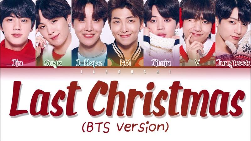 BTS (방탄소년단) - Last Christmas (A Typical Trainees Christmas) (Color Coded Lyrics Han|Rom|Eng)