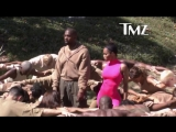 Съемки клипа Kanye west &amp Teyana Taylor - We Got Love