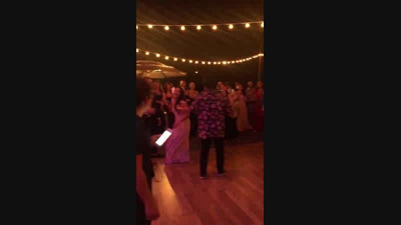 7 ноября 2018 Свадьба сестры Бруно Таити и Билли