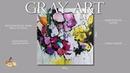 Абстрактная Картина Цветы Как красиво нарисовать