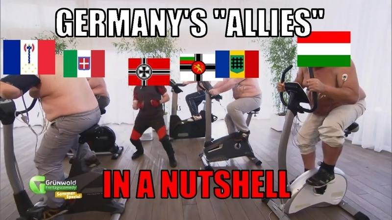 HOI 4 - Germany's Allies in a Nutshell