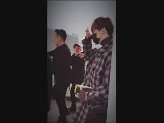 2018 | Ли Чон Сок в международном аэропорту Шоуду, Пекин (20 декабря)