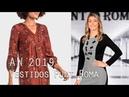 Vestidos y Faldas de Punt Roma Otoño Invierno Moda mujer 2019