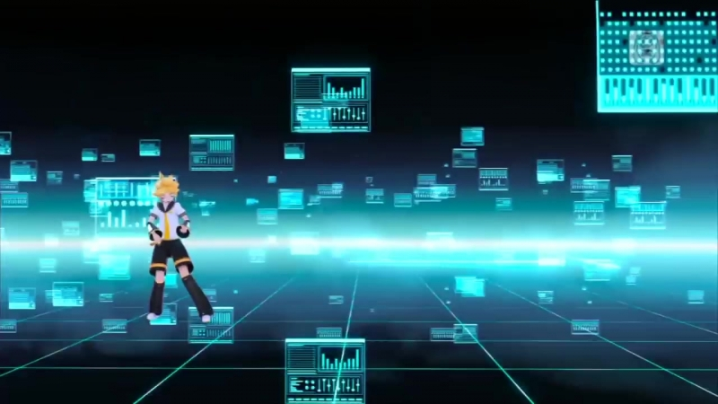[hisokeee] 【Rin・Len】 Kagamine Let's Say the P Names! ENGLISH Project Diva F Edit PV