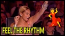 Top 7 Judges Cant Sit Its Too Much FUN... Lets Dance Moments On Got Talent UK!