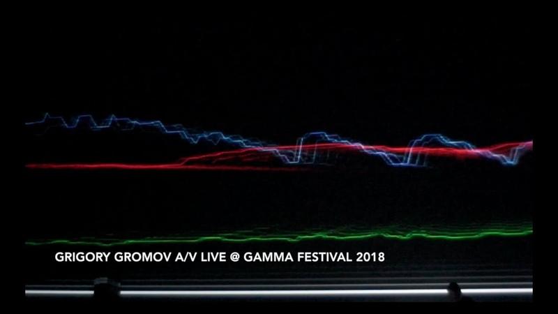 Grigory Gromov a v live @ GAMMA FESTIVAL 2018